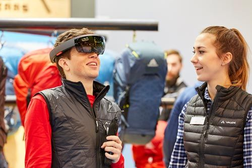ISPO Munich installs laboratory-like digitalization platform for retail and production at the upcoming fair. From 28 until 31 January 2018, ISPO Munich will install the laboratory-like platform 'Digitize by ISPO Academy' on around 1,000 square meters where new concepts and technologies in sports retail and production will be exhibited and discussed... fig.: Image from this year's ISPO Munich. Photo: Messe München GmbH / Frommel fotodesign, frommel.de. Photo provided by ISPO.
