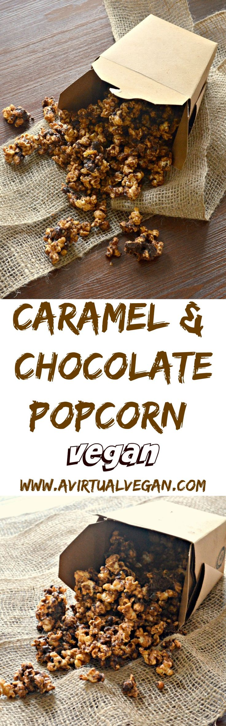 This popcorn is seriously addictive. Drenched in rich, buttery salted caramel, baked until perfectly crisp & then finished with lashings of chocolate, it is totally & utterly delicious & absolutely dairy free!