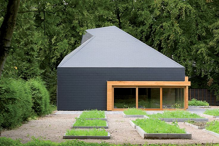 Woodland Tea House - Fibre cement slates