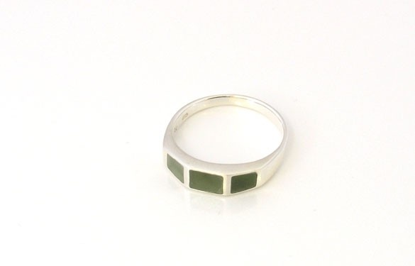 Paua World - Silver and Greenstone Ring, $65.00 (http://www.pauaworld.com/silver-and-greenstone-ring/)