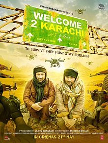 Welcome To Karachi (2015) - Arshad Warsi, Jackky Bhagnani, Katrina Kaif