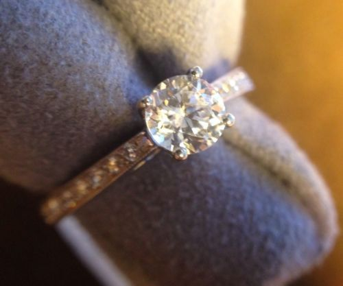 Martin Flyer FlyerFit Classic Engagement Ring From Simplicity Collection
