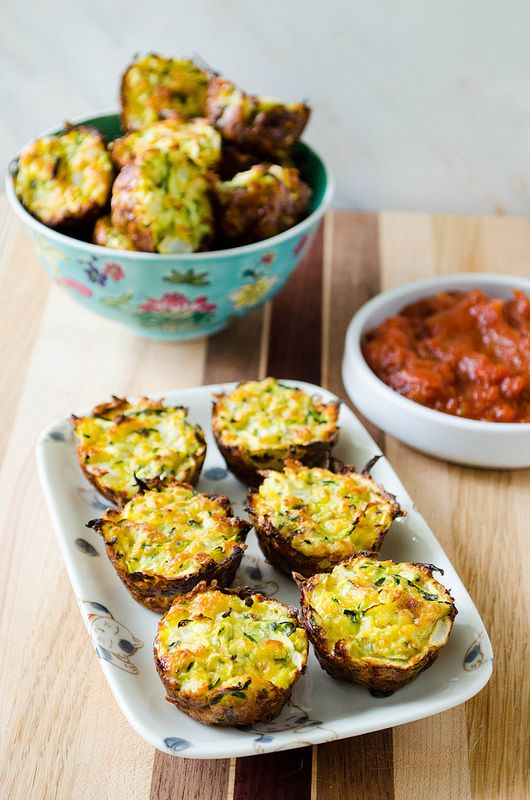 I have another zucchini recipe for you today; summer isn't over quite yet! I'm home for the weekend to celebrate my mom's birthday, which was earlier in the week, so I'll keep today's post semi-short and to the point.  These zucchini bites are the best appetizer or snack served up with some marinara sauce. …