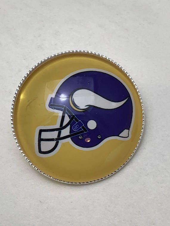 0acd1dd3 Minnesota Vikings Football Helmet Pin/Badge. Great gift for a ...