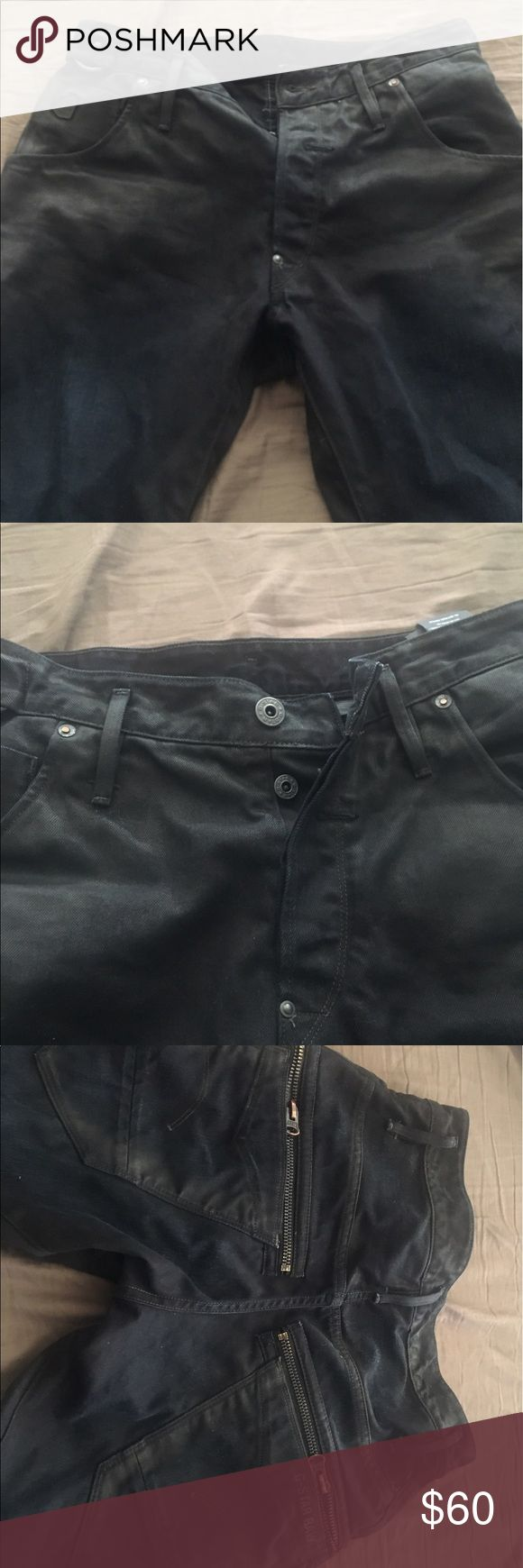 GSTAR RAW JEANS GSTAR raw jeans  9/10 condition  Worn 3 times  Don't fit me no more  Size 30x32 G-Star Jeans Straight
