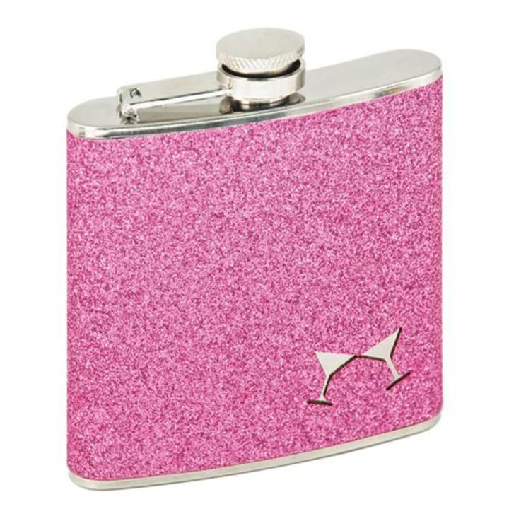 Mrs Golf  - Ladies Golf Apparel, Shoes, Accessories - Flask Pink Bling Cosmo