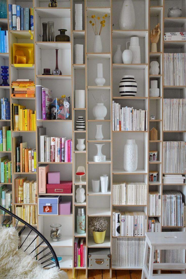 Selbstgebautes Bücherregal Aus MDF Platten