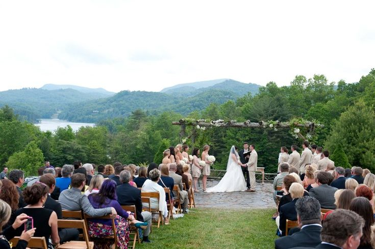 Outdoor Wedding Ceremony Mountain Laurel Farm Six Hearts: 17 Best Images About Destination Weddings On Pinterest