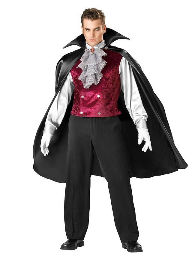 dracula, i like the lace and red vest?