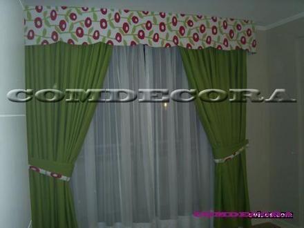 Como hacer una cenefa de madera imagui cortinas for Como hacer cortinas para salon