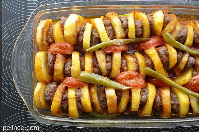 !   !   _www.pelince.com_ ! !: Fırında Köfte Patates