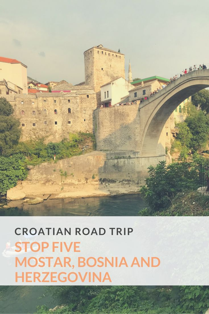 Mostar, Bosnia and Herzegovina, stop 5 on our European road trip. A one night stop over and a change of pace from Croatia exploring a new town and country. take a look..… #Wanderlust #TravelBlogger #Europe
