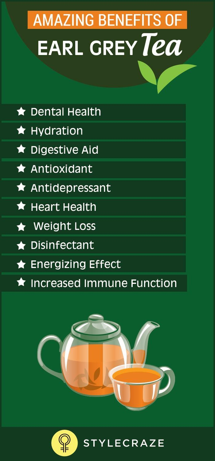 Did you ever have Earl Grey tea? Have you heard of it before? If not, it's time you learnt about it and started taking it on a daily basis. This is because of the amazing health benefits it comes with.