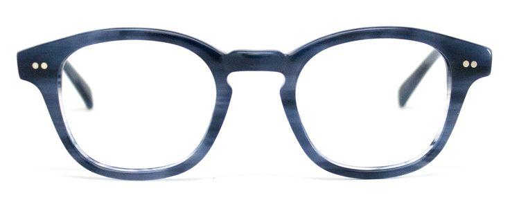 Penn Avenue Eyewear | Men's Eyewear : Alex. stylish cool blue glasses: