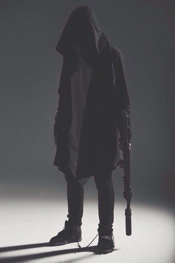 Visions of the Future // Jacket: ninja goth street goth blvck fashion dark