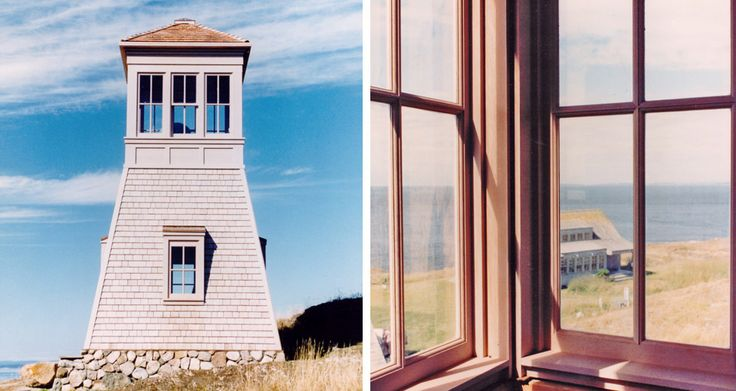 San Juan Island tower, a project that I worked on in Tom Bosworth's office