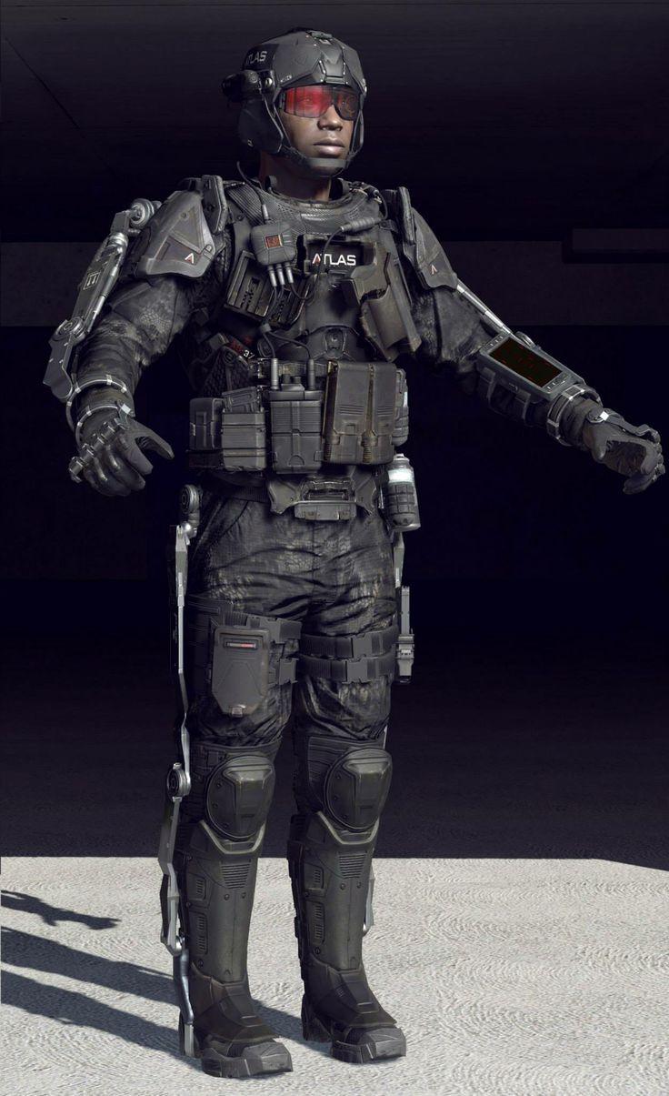 ATLAS Exoskeleton – Character Models | 3D_Character ...