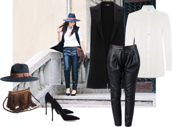 BLACK AND WHITE  RENA bags on www.rena.ro