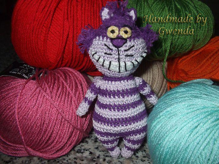 Cheshire Cat Amigurumi : Cheshire cat... Stregatto... Amigurumi Pinterest ...