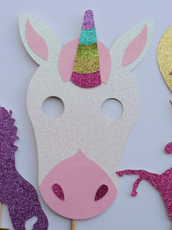 Unicornio fotos fiesta cabina apoyos por letsgetdecorative for Decoracion 15 anos unicornio