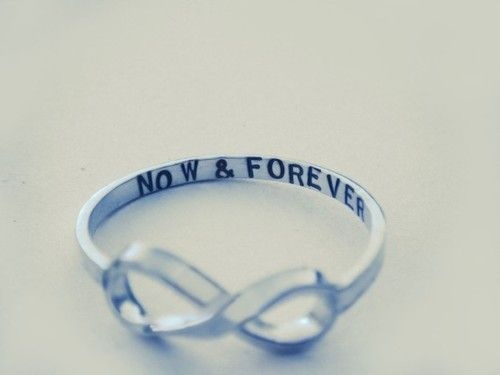 The infinity ring.