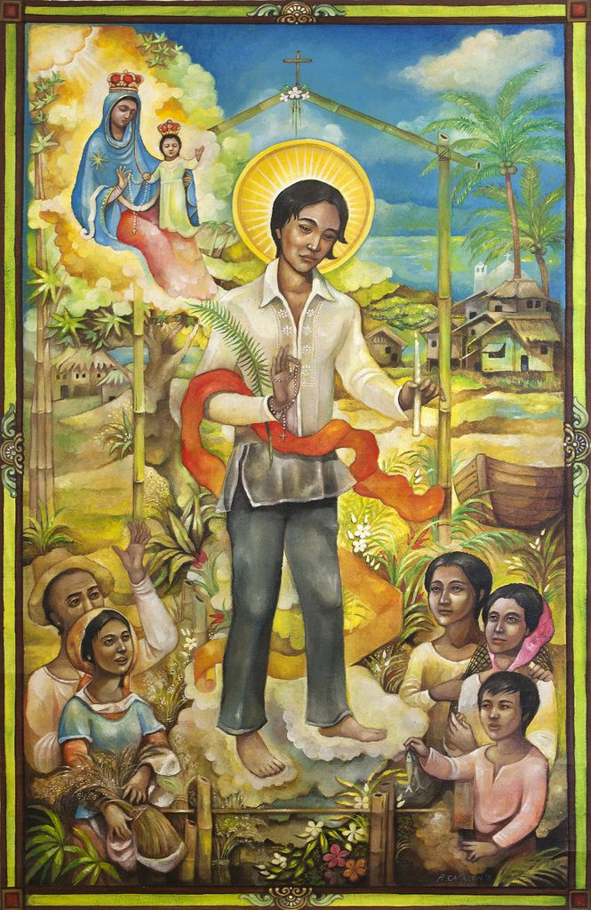 philippine saint saint lorenzo ruiz essay The first martyr of the philippines, lorenzo ruiz larry peterson  the first far eastern saint i learned about was saint lorenzo ruiz, the  spain ruled the philippines and, for a reason .