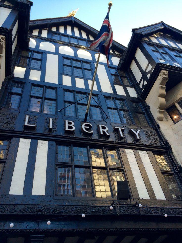 Magasin Liberty à Londres ❤️