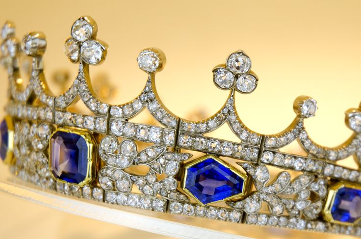 Queen Victoria's coronet designed for her by Prince Albert