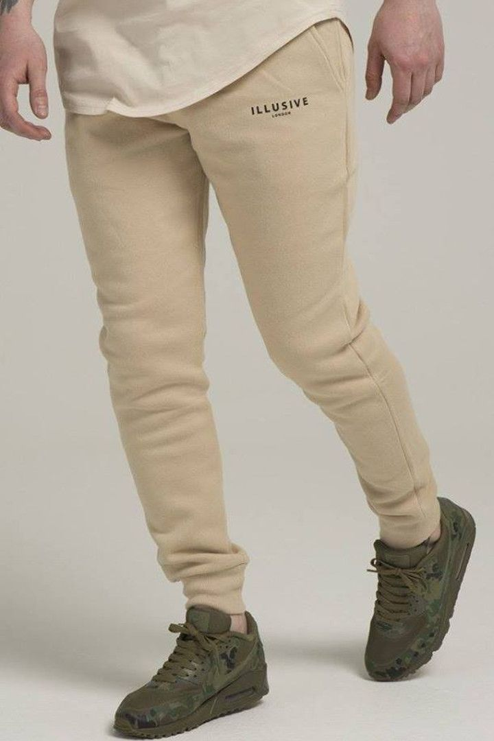 ILLUSIVE LONDON STANDARD JOGGERS – STONE