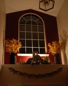 decorating high ceiling ledges - Google Search home