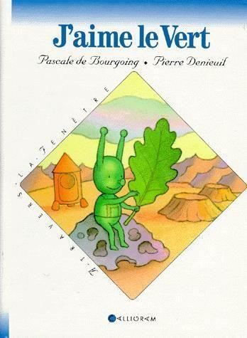 CPRPS 31997000759555 J'AIME LE VERT. Un petit extraterrestre découvre une planète où la nature est verte comme lui, c'est la Terre. Un récit agrémenté de (cinq) films transparents. [SDM]