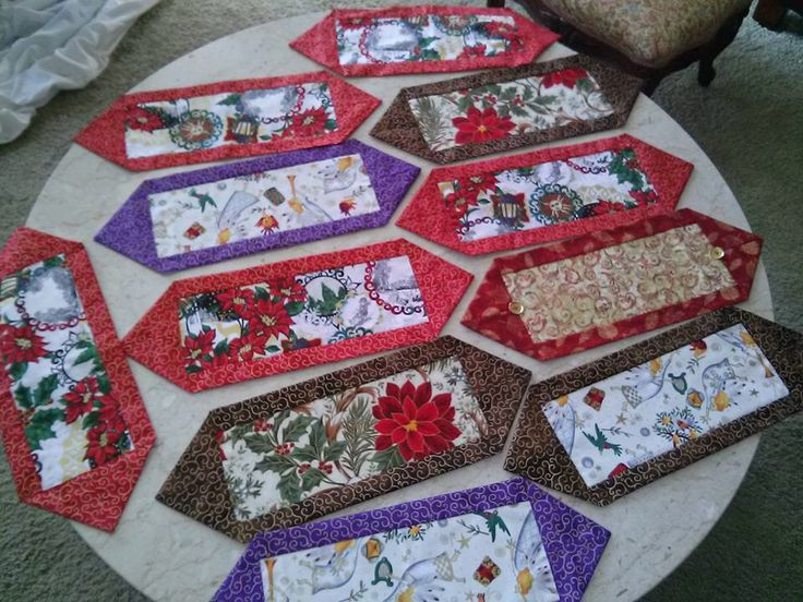 17 best images about seamstress on pinterest simple for 10 min table runner
