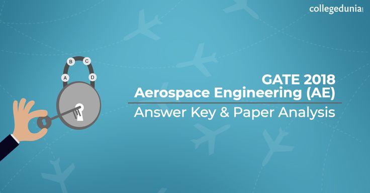 Gate Aerospace Engineering 2018 Answer Key