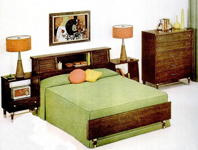 Bedroom (1956)  Furniture ad: