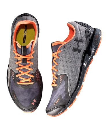Take a look at this Charcoal UA Micro G® RE Running Shoe - Men by Under Armour® on #zulily today!