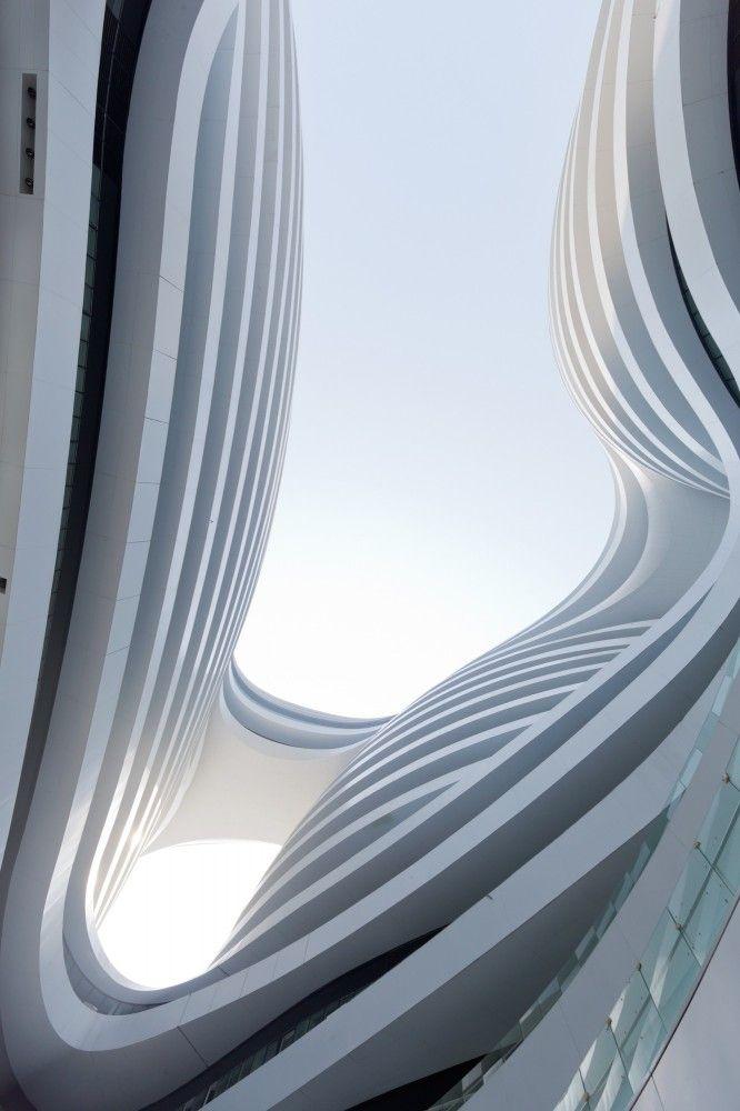 Galaxy Soho / Zaha Hadid Architects  Galaxy Soho / Zaha Hadid Architects © Iwan Baan- I like the fluidity of this space.