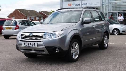 Used 2010 ( reg) Grey Subaru Forester 2.0 XS 5dr Auto for sale on RAC Cars