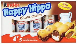 Ferrero Kinder Happy Hippo Cocoa Cream Chocolate Bar