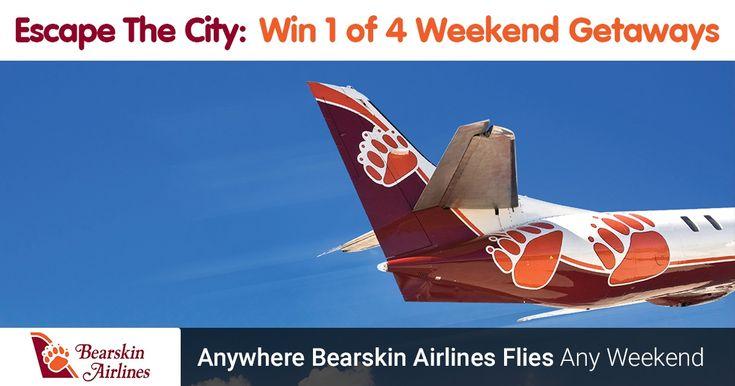 Enter to WIN the Bearskin Airlines weekend Getaway
