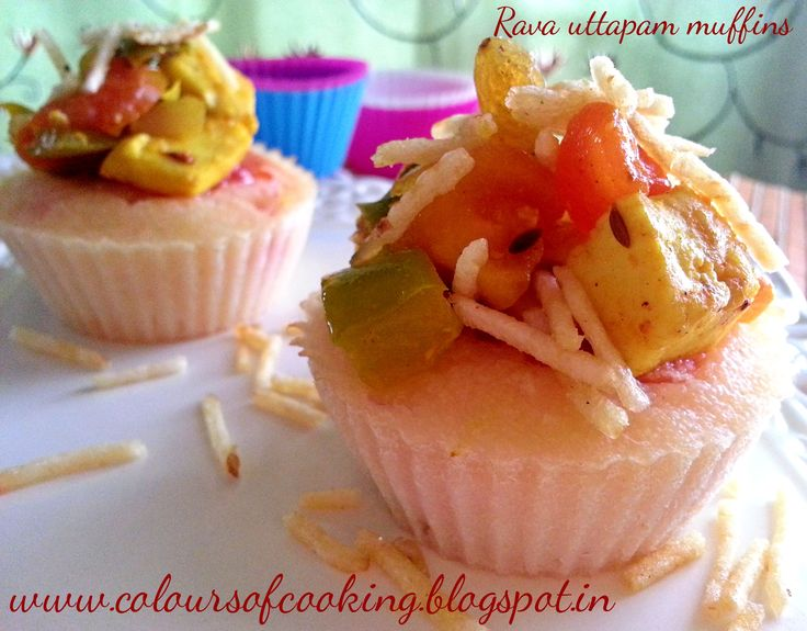 A twist in the tale, rava uttapam muffin taste like an uttapam but looks like a muffin. Its a fusion of Indo-western cooking. These little muffins are really healthy for your loved one and are easy to prepare at home.