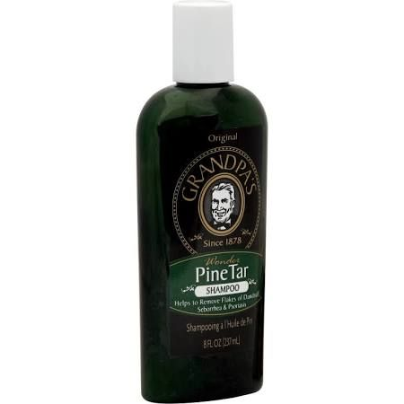 pine tar shampoo - this is what my parents use
