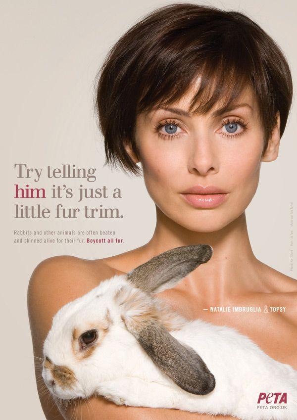Natalie Imbruglia PETA