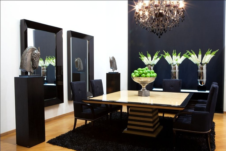 Exclusive and beautiful dining rooms www.fernandogarcia.com.co