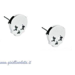 S'AGAPO' Orecchini Teschio in acciaio HAMLET SHM22 http://www.gioiellivarlotta.it/product.php?id_product=1258
