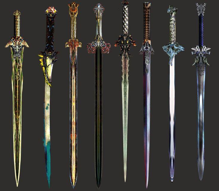 Картинки красивых мечей