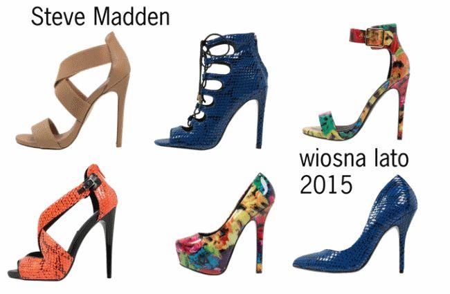 Moda wiosna 2015 - szpilki z nowej kolekcji Steve Madden!