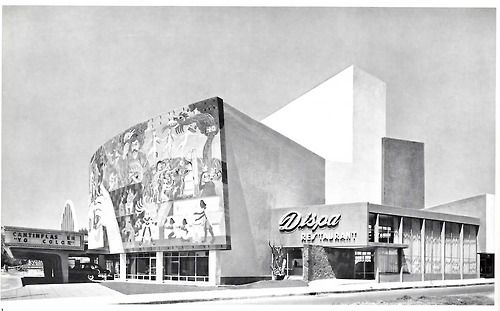 Teatro Insurgentes, México, DF 1952    Arq. Alejandro Prieto  Insurgentes Theatre, Mexico, DF 1952 Architect: Alejandro Prieto