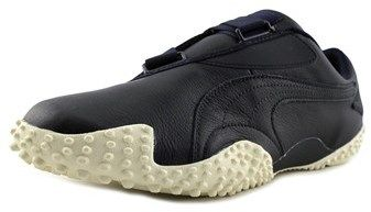 Puma Mostro Og Ii Men Round Toe Leather Blue Sneakers.