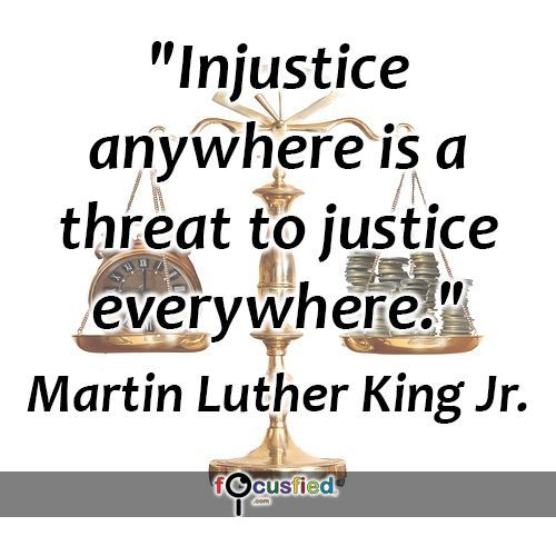 The legacy of Martin Luther King: Injustice anywhere is a threat to justice everywhere