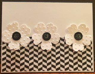 Stampin' Up! Pansy Punch and Back to Black Designer Series Paper